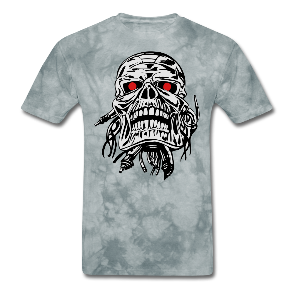 Term Tee - grey tie dye