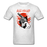 Kill Tee - light heather grey