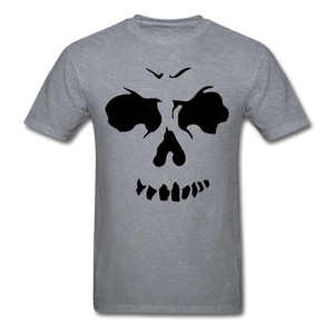 Skull Tee - mineral charcoal gray