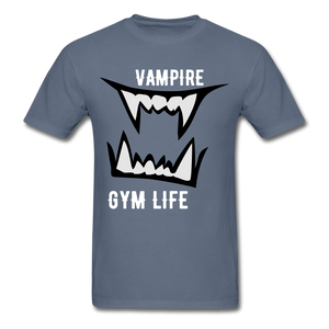 Vamp Gym Tee - denim