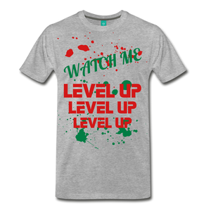 LEVEL UP - heather gray
