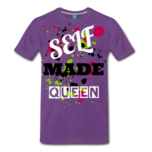 Self Made Queen - purple