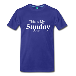 Sunday Shirt - royal blue