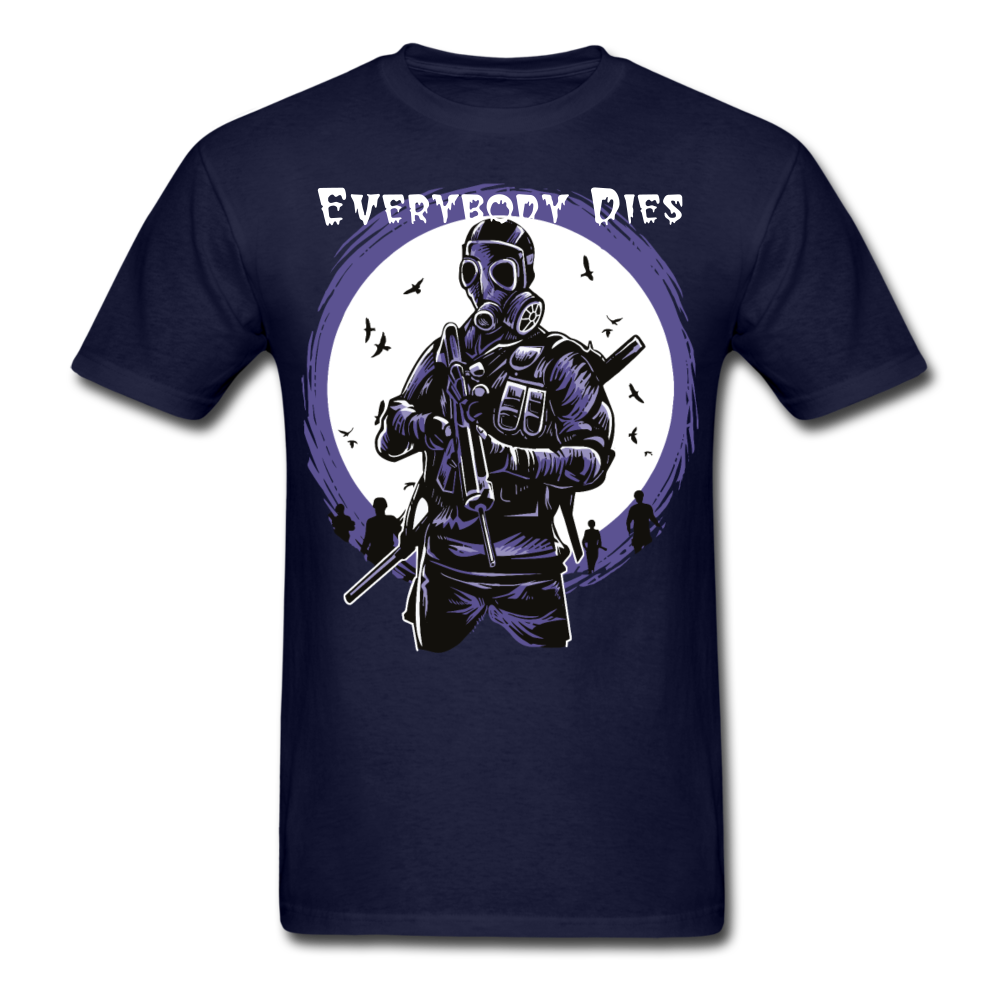 Everybody Dies Tee - navy