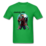 Zombie Tee - bright green