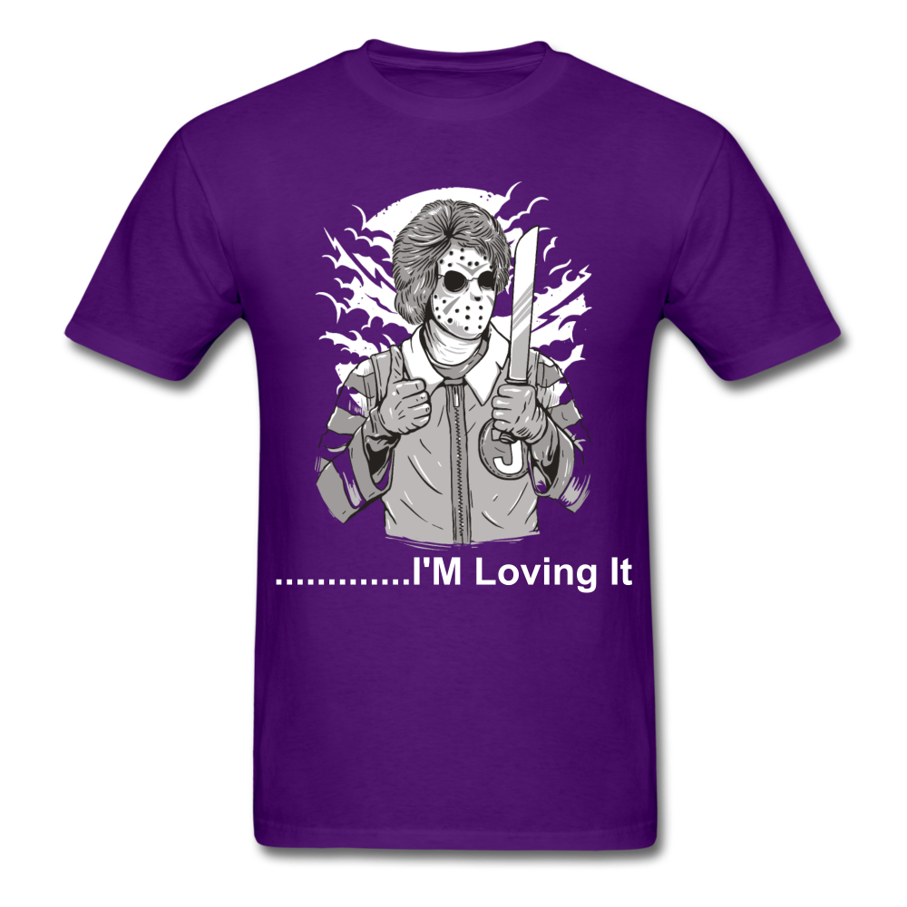 Loving it Tee - purple