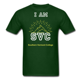 Svc Tee. - forest green