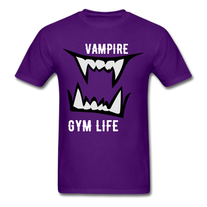 Vamp Gym Tee - purple