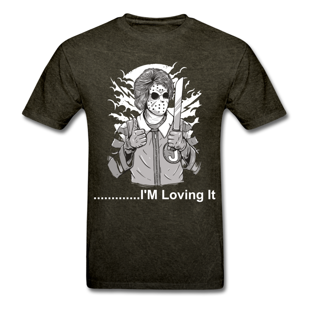 Loving it Tee - mineral black