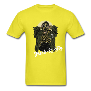 Fresh-&-Fly Tee - yellow