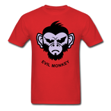 Monkey Tee - red