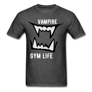 Vamp Gym Tee - heather black