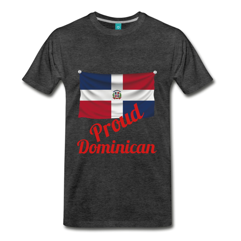 Proud Dominican - charcoal gray