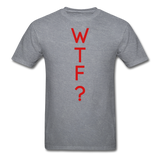 WTF Tee - mineral charcoal gray