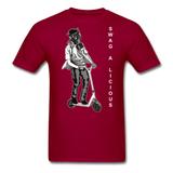 Swag-A-Licious Tee - dark red