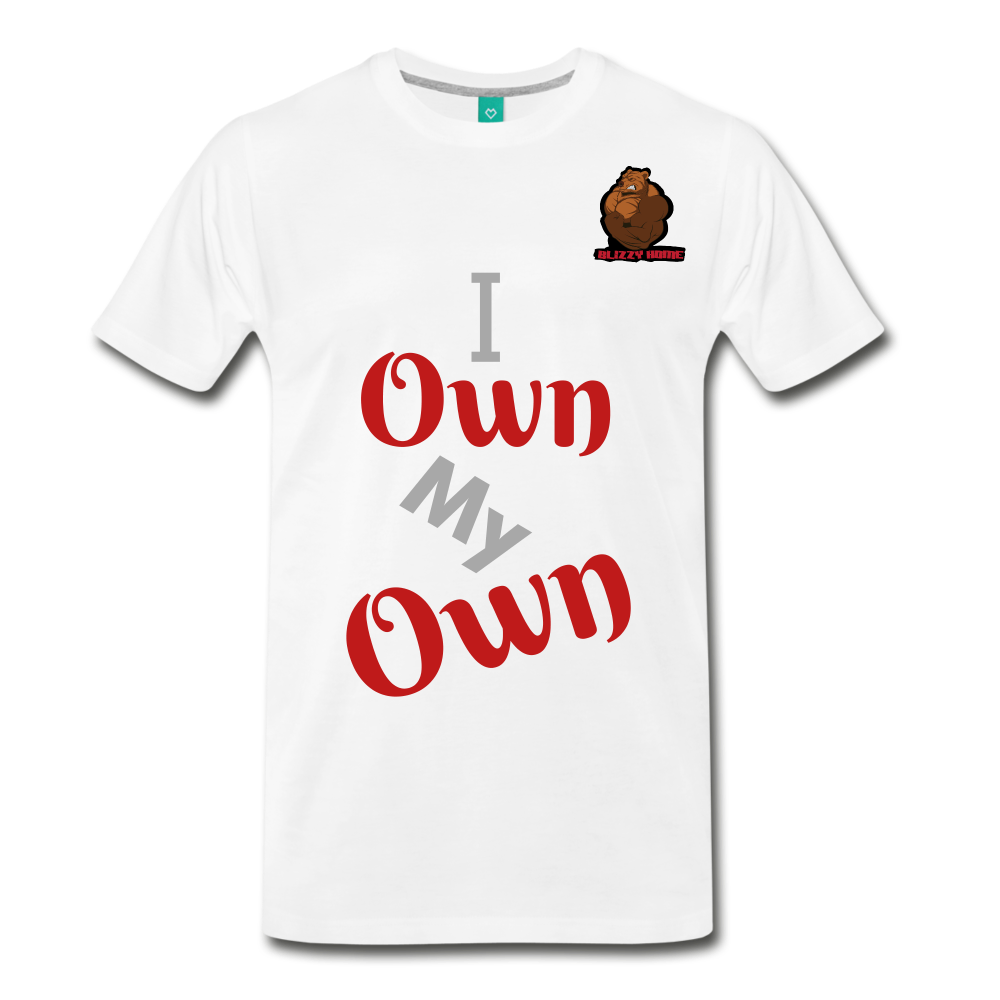 i own my own. - white