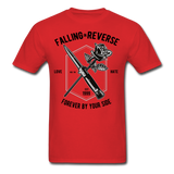 Fall in Reverse Tee - red