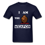 I AM THE WEAPON - navy