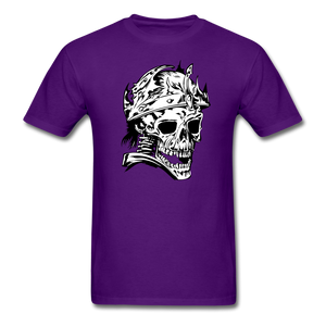King Skull Tee - purple