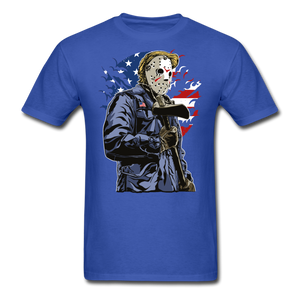 Trump Killer Tee - royal blue