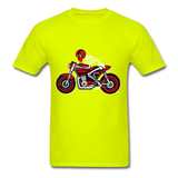 Rider Tee - safety green