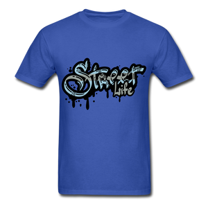 Street Tee - royal blue