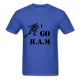 H.A.M Tee - royal blue