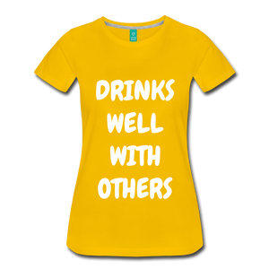 DRINKS WELL - sun yellow