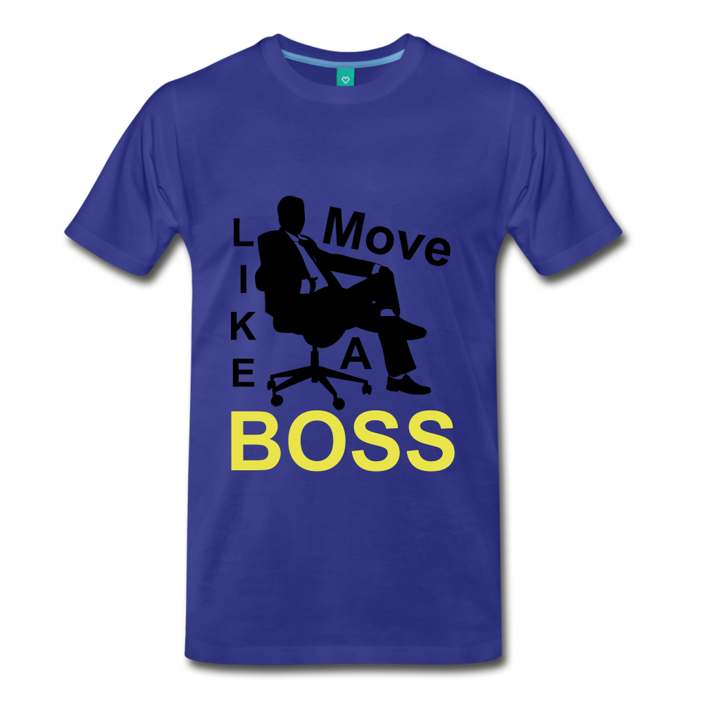Move Like A Boss - royal blue
