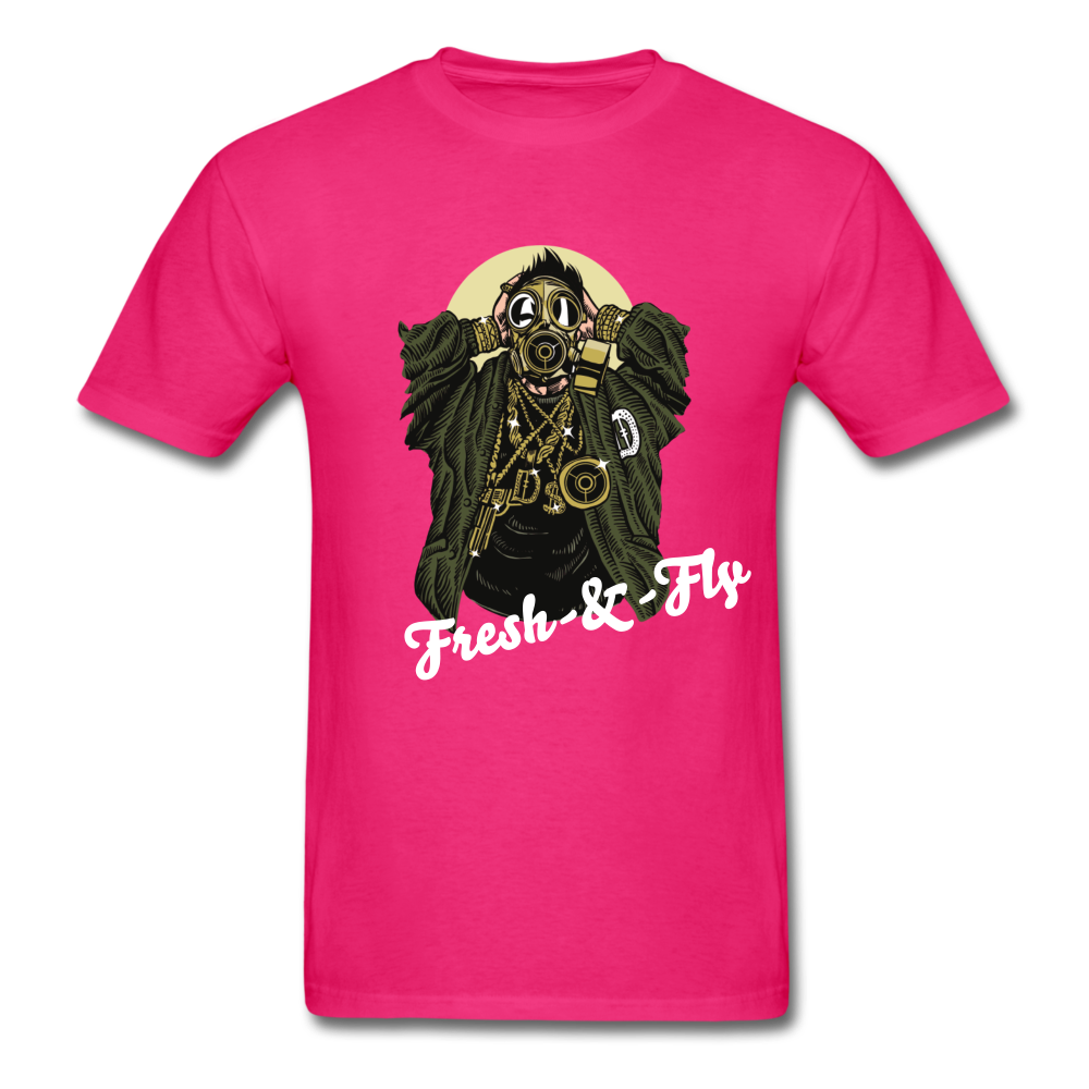 Fresh-&-Fly Tee - fuchsia