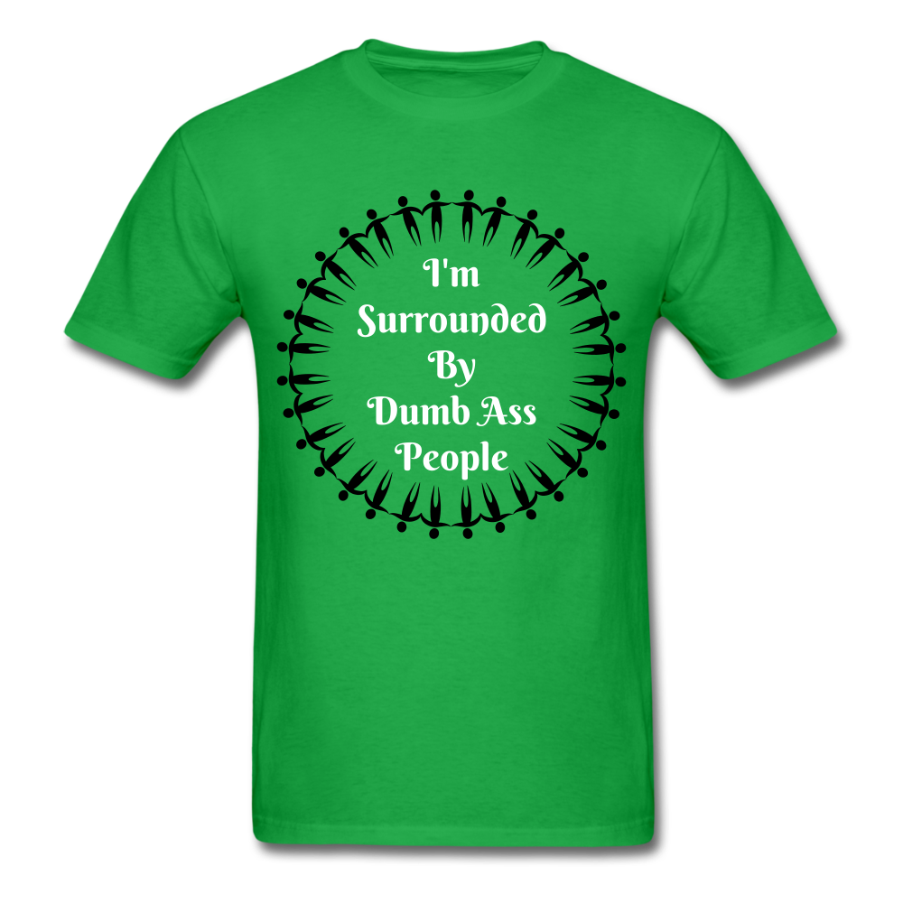 Dumb Ass Tee - bright green