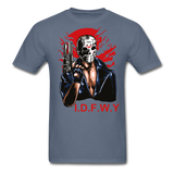 I Don't F With You Tee - denim