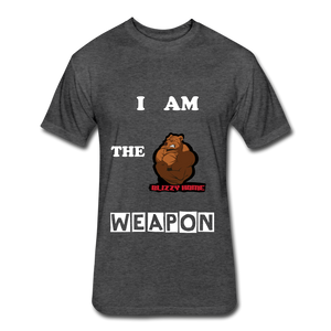I am the weapon. - heather black