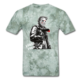 S-T Killer Tee - military green tie dye