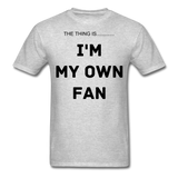 My Own Fan - heather gray