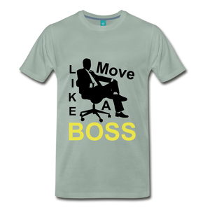Move Like A Boss - steel green