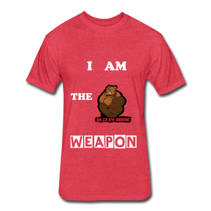 I am the weapon. - heather red