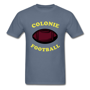 Colonie Football Tee - denim