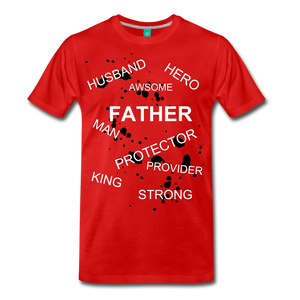 FATHER PLUS - red