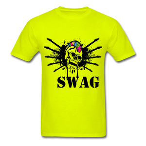 Swag Tee - safety green