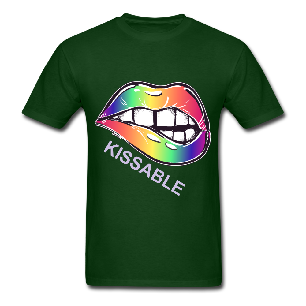 Kissable Tee - forest green