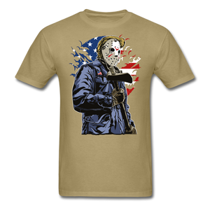 Trump Killer Tee - khaki