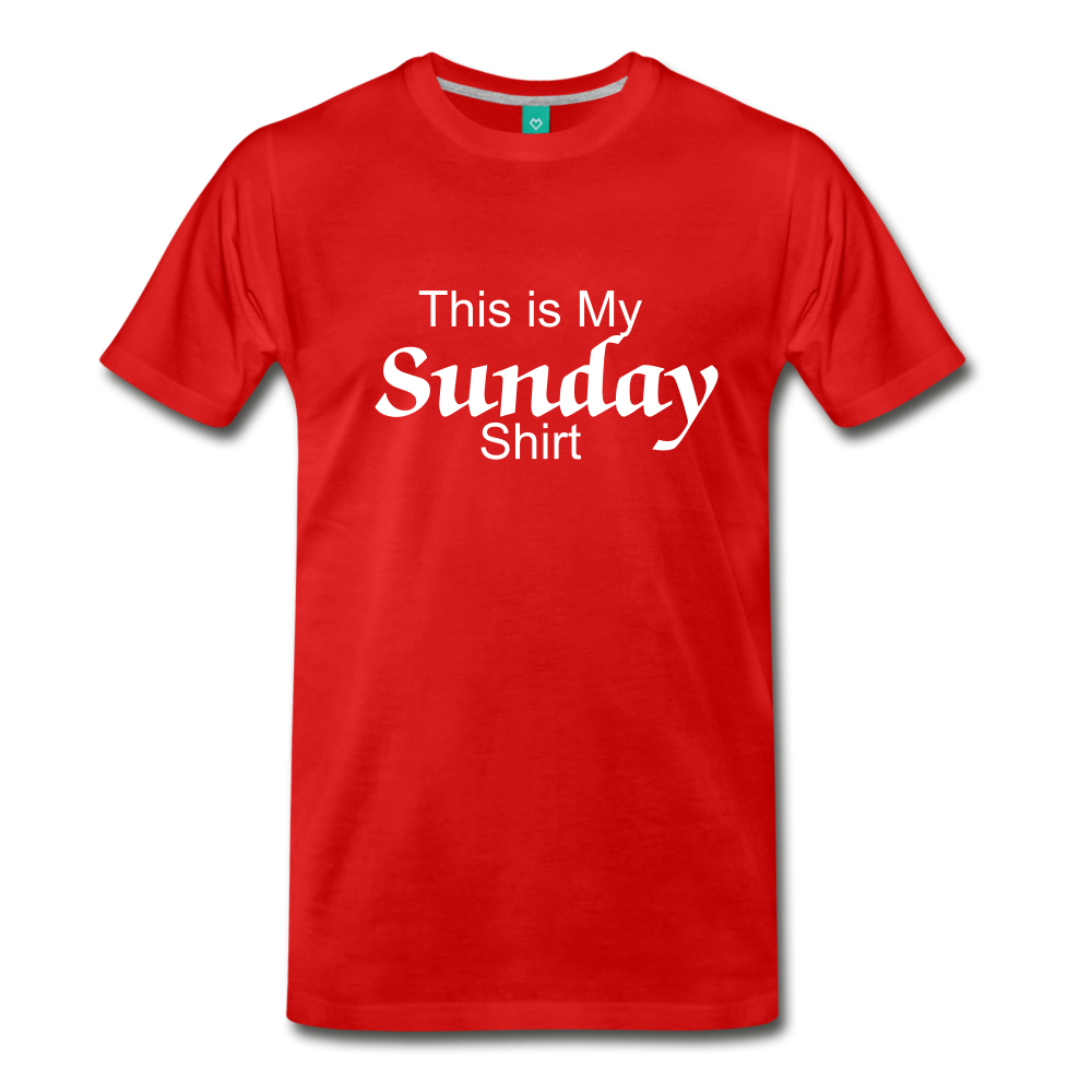 Sunday Shirt - red