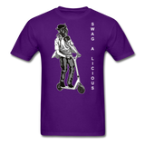 Swag-A-Licious Tee - purple