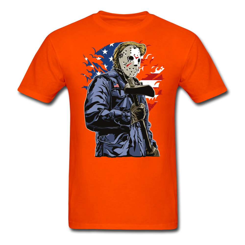 Trump Killer Tee - orange
