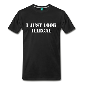 LOOK ILLEGAL TEE - black