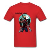 Zombie Tee - red