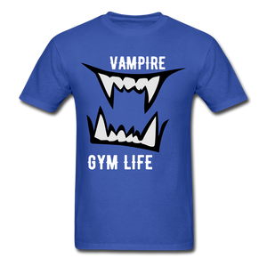 Vamp Gym Tee - royal blue