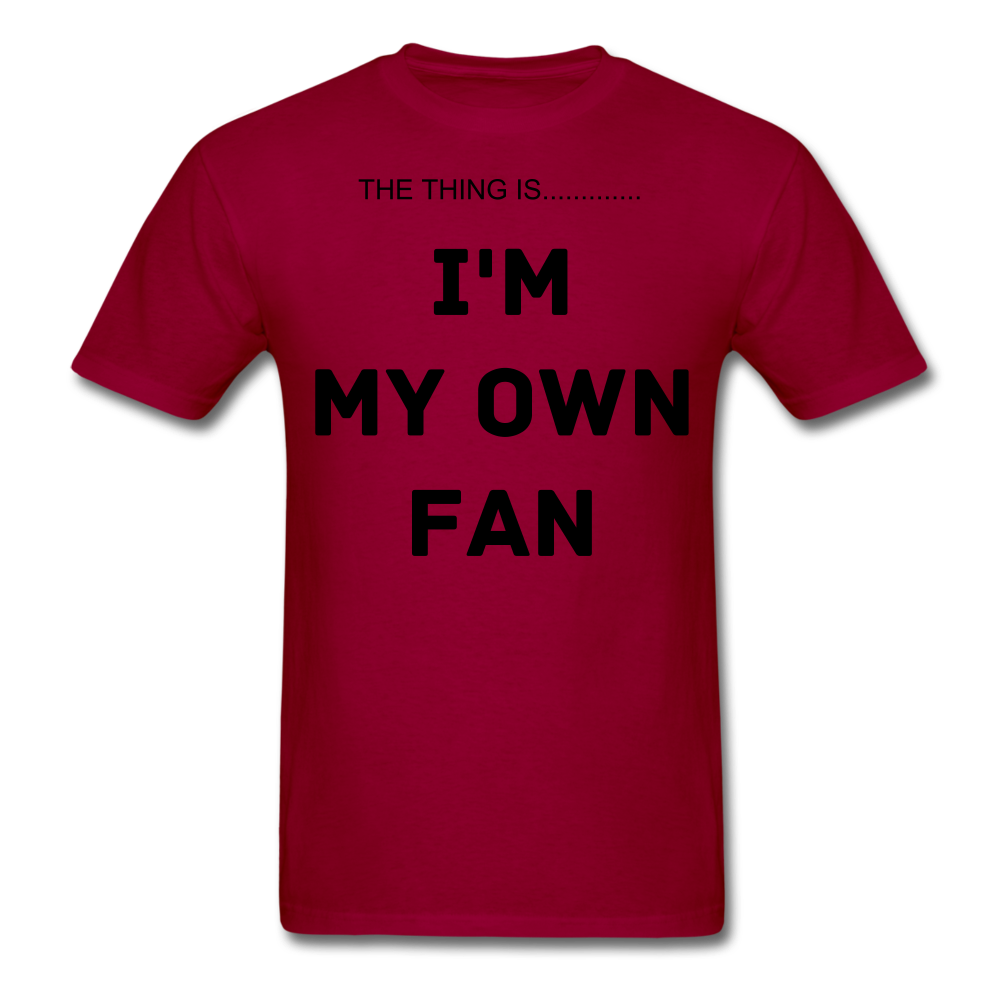 My Own Fan - dark red