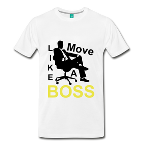 Move Like A Boss - white